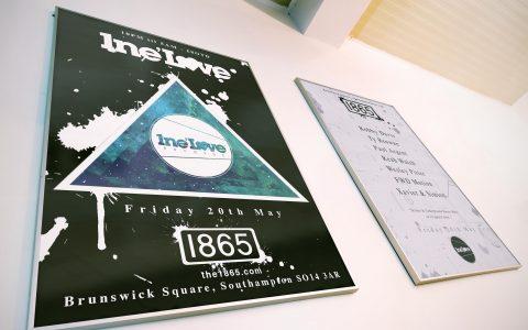 1neLove - Event poster